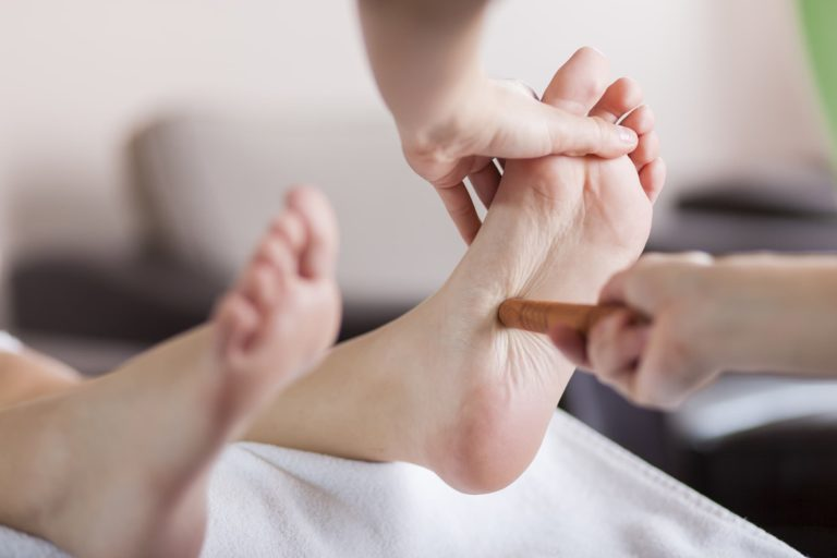 Foot reflexology Thai massage